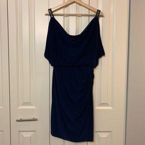 Ralph Lauren navy blue cocktail dress